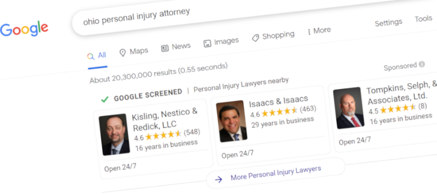 Google's First Page Results for Lawyers Explained: The 2021 Guide